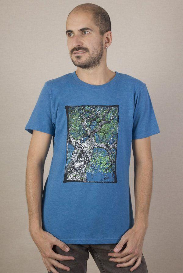 Camiseta arbol Hombre