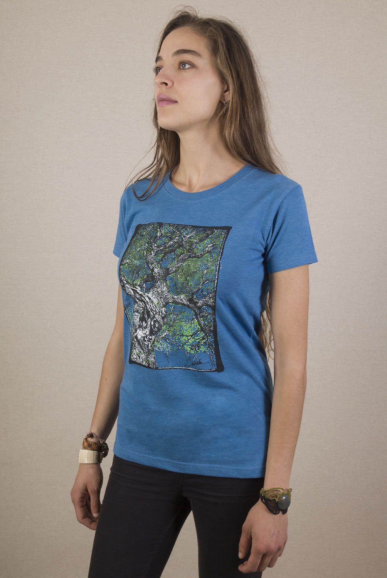 Camiseta arbol Mujer