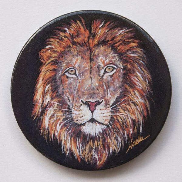 Imanes de animales-leon-sirem wild
