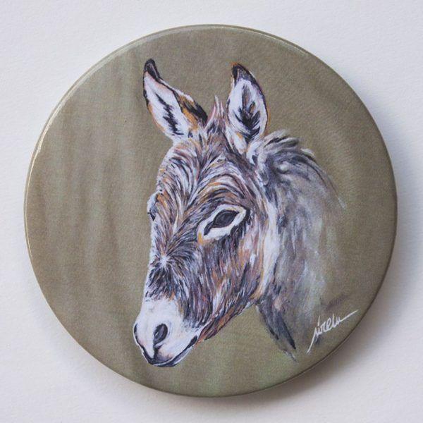 Imanes de animales-burro-sirem wild