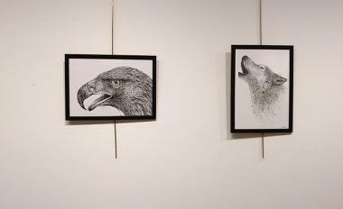 Objetivo 8_2018_colectivo artistico-miriam barahona-espacio joven-salamanca-lobo-picapinos-aguila-arbol-ilustracion