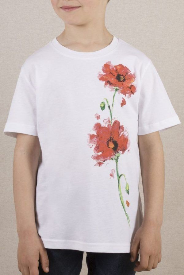 Camiseta Amapolas Infantil