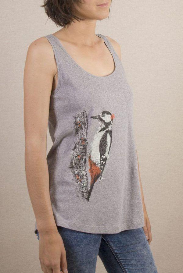 Camiseta Picapinos Mujer Tirantes