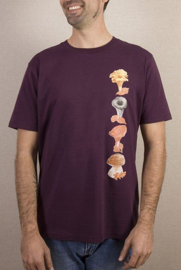 Camiseta Setas Hombre