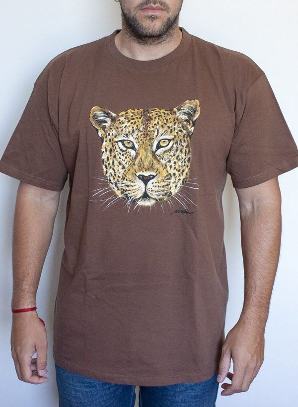 Camiseta Leopardo Hombre XL
