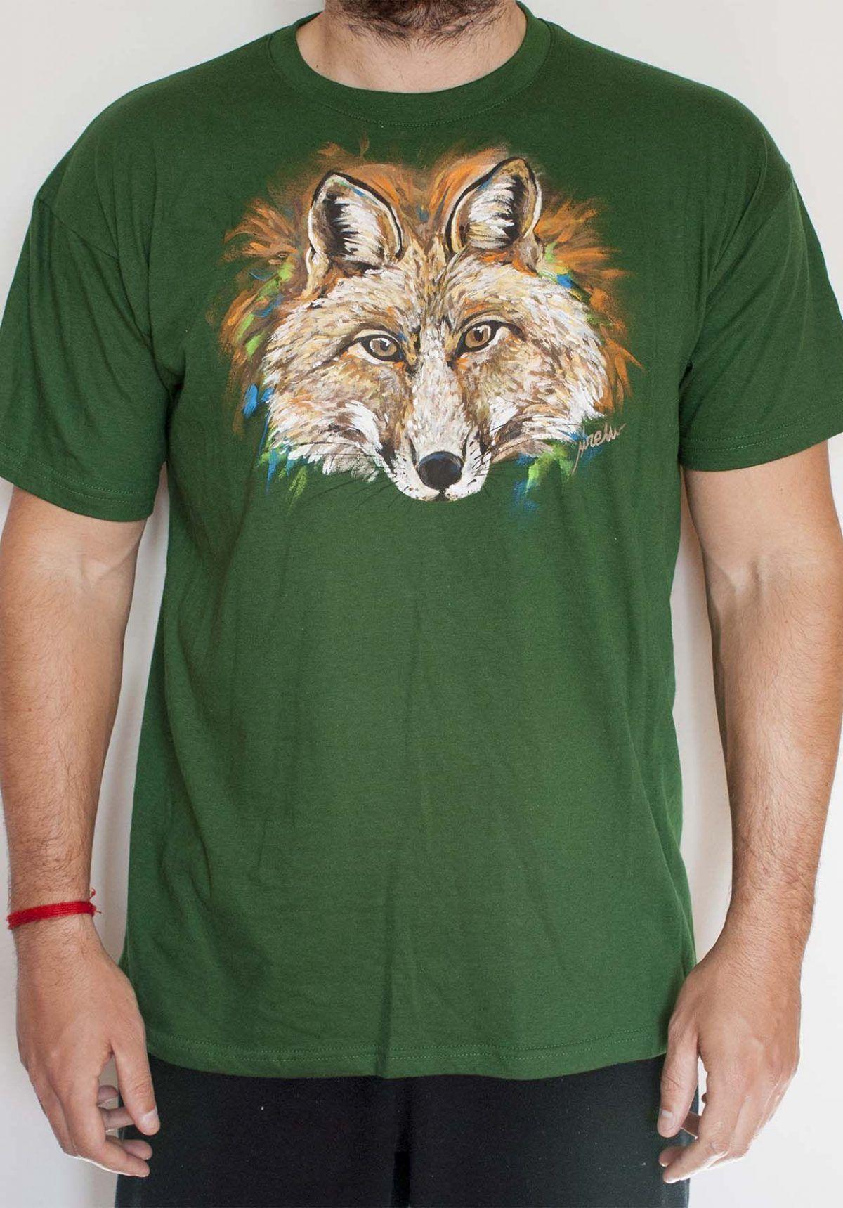 Camiseta Zorro Hombre L