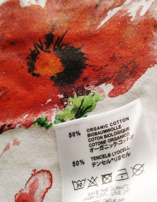 Tencel Lyocell-sirem wild-amapola-camiseta ecologica-algodon organico