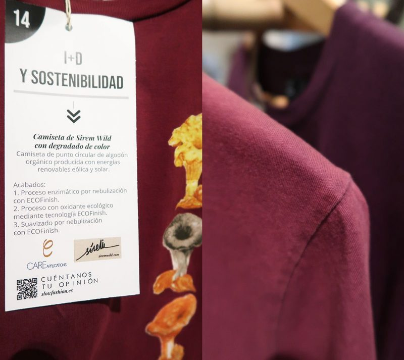 sirem wild-jornada moda sostenible-camisetas ecologicas-Care Applications
