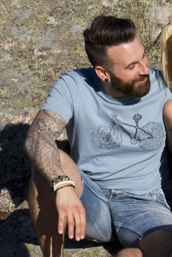 sirem wild-camiseta ecologica-algodon organico-bicicleta-moda sostenible