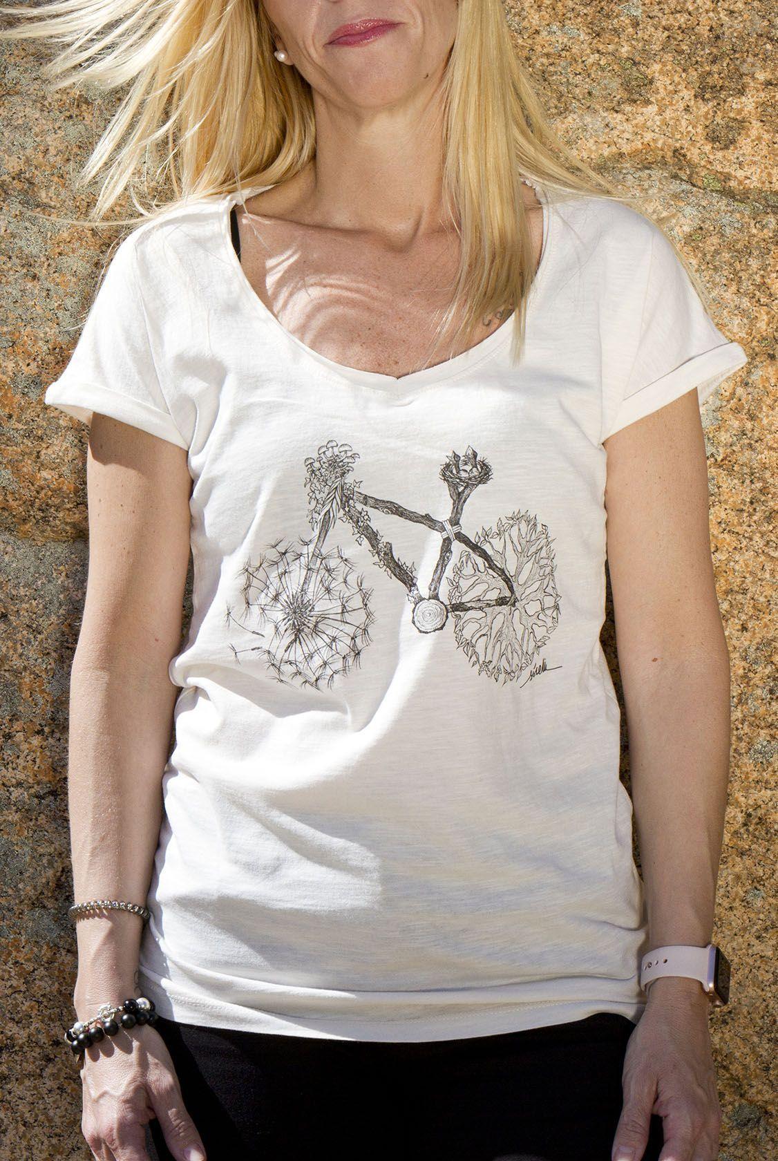 camiseta bicicleta-algodon organico-sirem wild