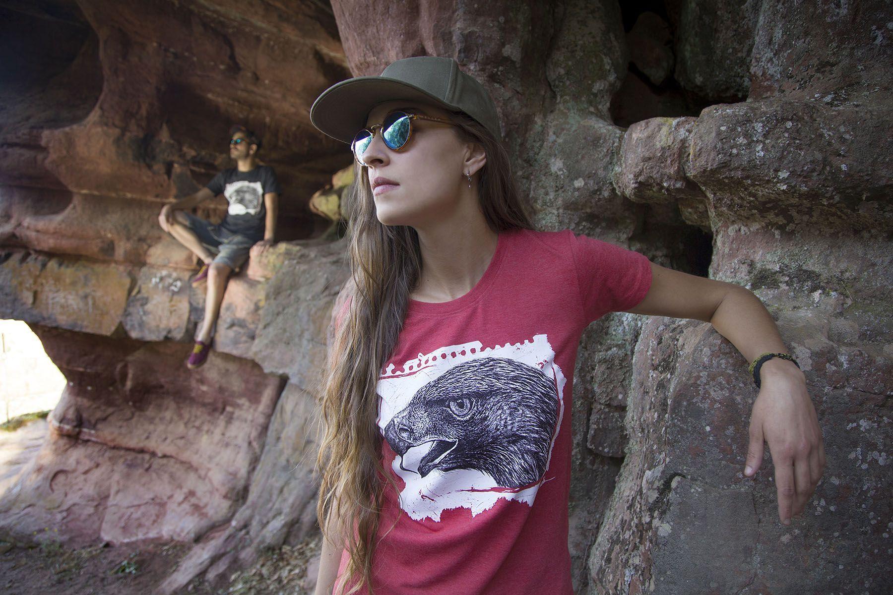 sirem wild-coleccion animales totem-moda sostenible-aguila
