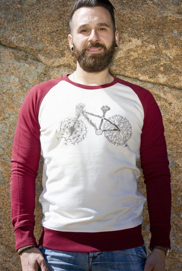 sudadera bicicleta naturaleza-algodon organico-sirem wild-moda sostenible