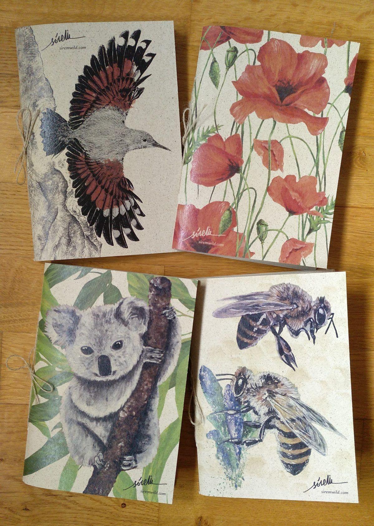 libretas naturaleza-sirem wild-treparriscos-amapolas-koala-abejas.jpg