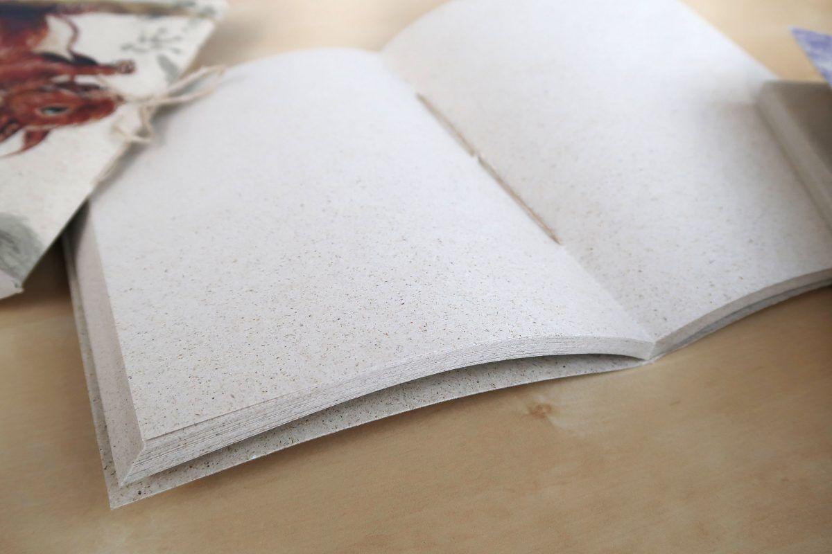 libretas para dibujar papel hierba-sirem wild