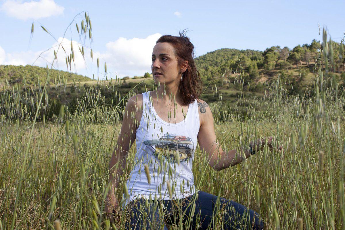 camiseta-furgoneta volkswagen-algodon organico-sirem wild-moda sostenible-mujer tirantes