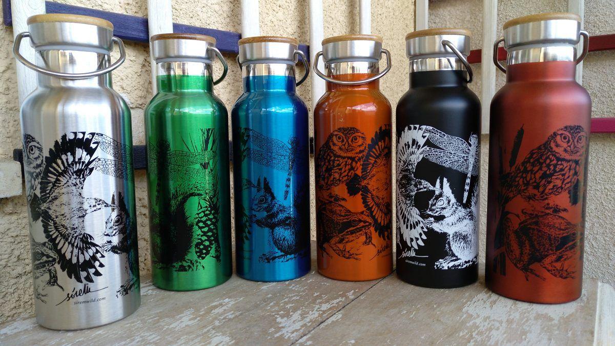 botellas de agua reutilizables personalizadas termo sostenibles-sirem wild