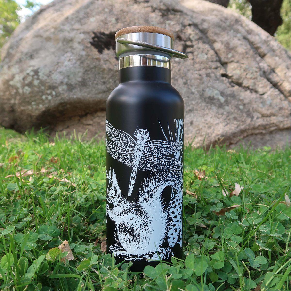 botellas de agua reutilizables-sirem wild-negra