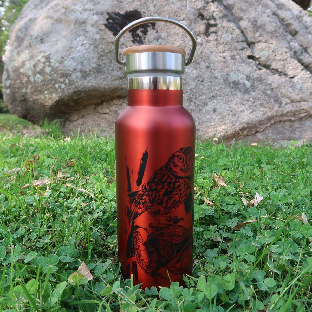 botellas de agua reutilizables-sirem wild-roja