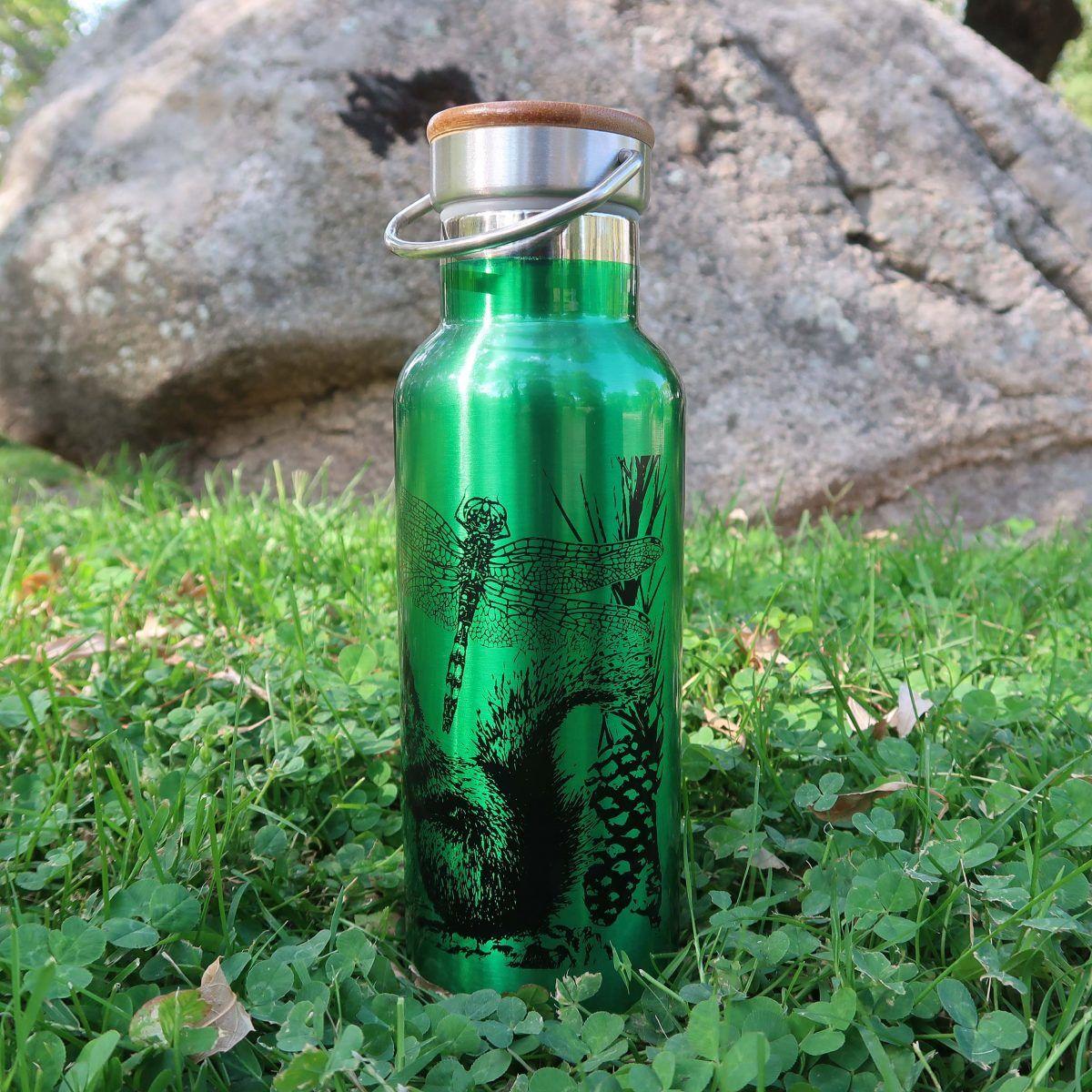 botellas de agua reutilizables-sirem wild-verde