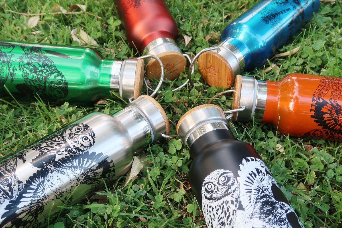 botellas de agua reutilizables termo-sirem wild