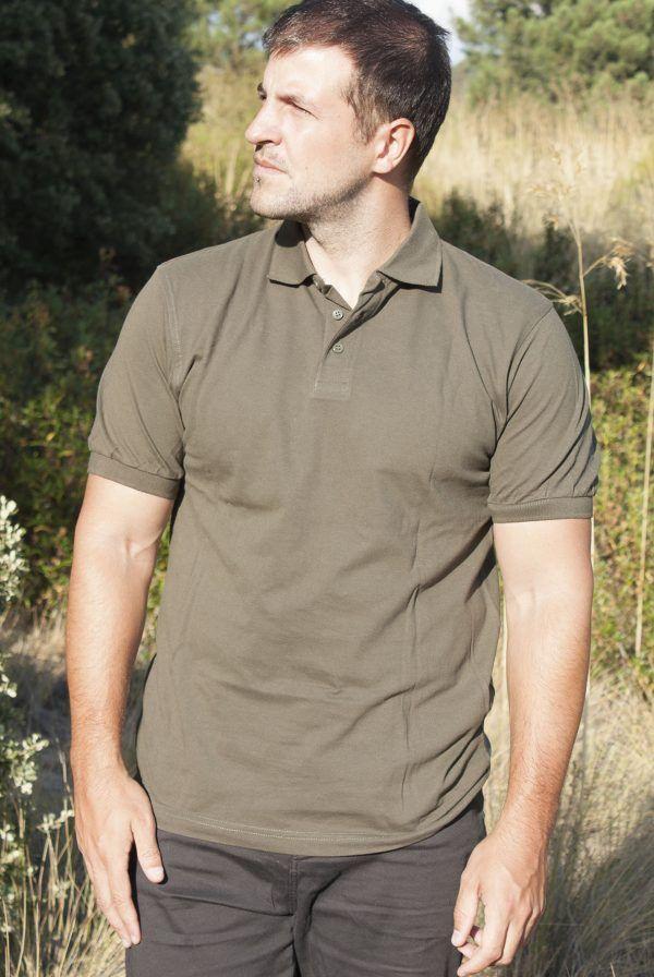 camiseta pintada a mano personalizada-polo Jabali-hombre unisex manga corta-sirem wild-algodon