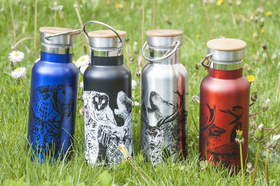 botellas de agua reutilizables personalizadas termo-sirem wild