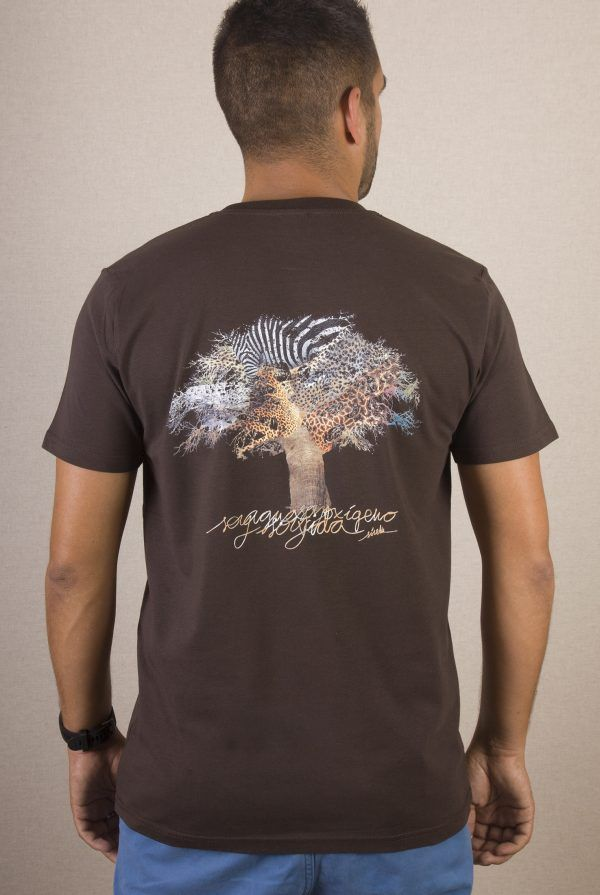 Camiseta hombre Baobab árbol-sirem wild