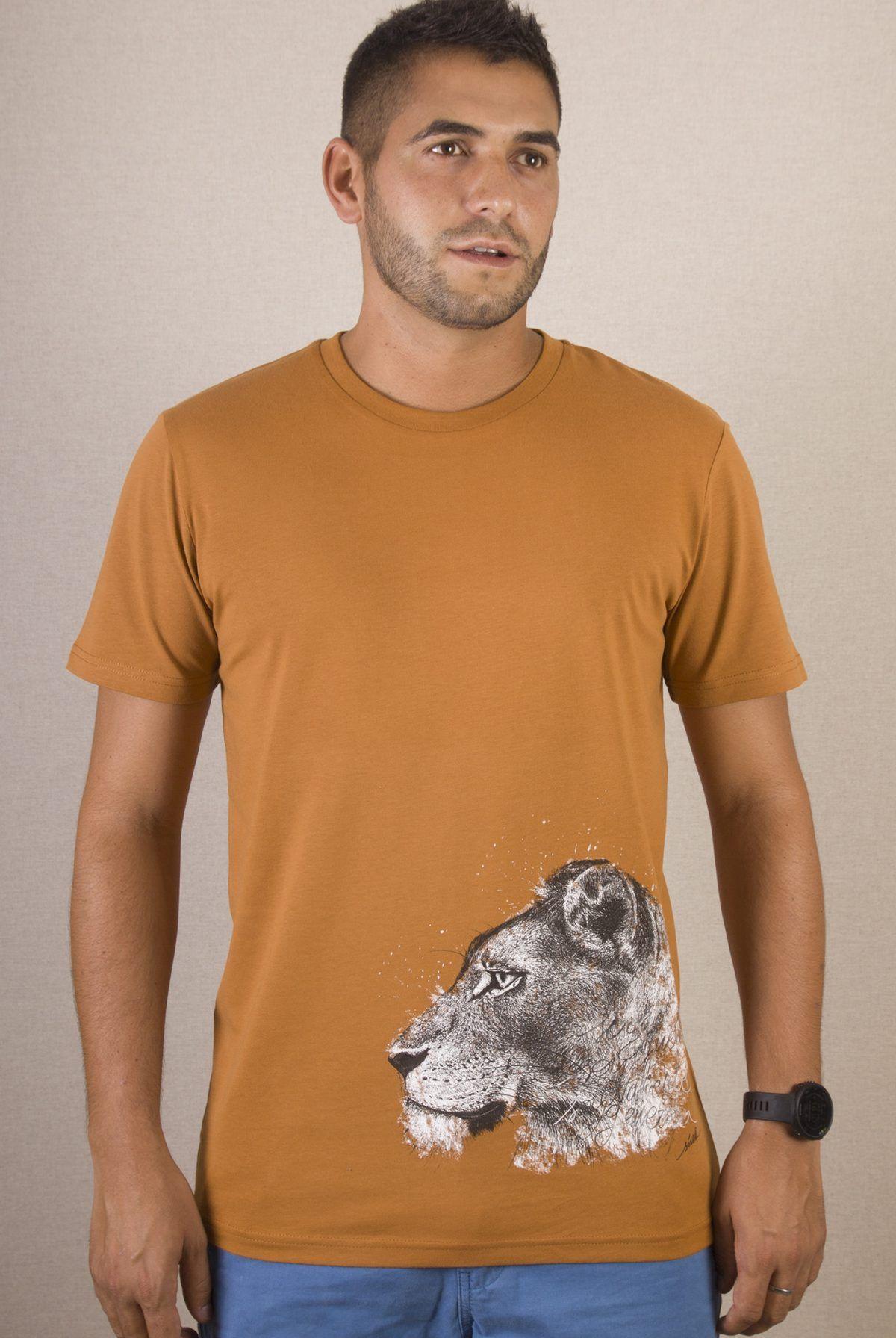 Camiseta hombre Leona-sirem wild