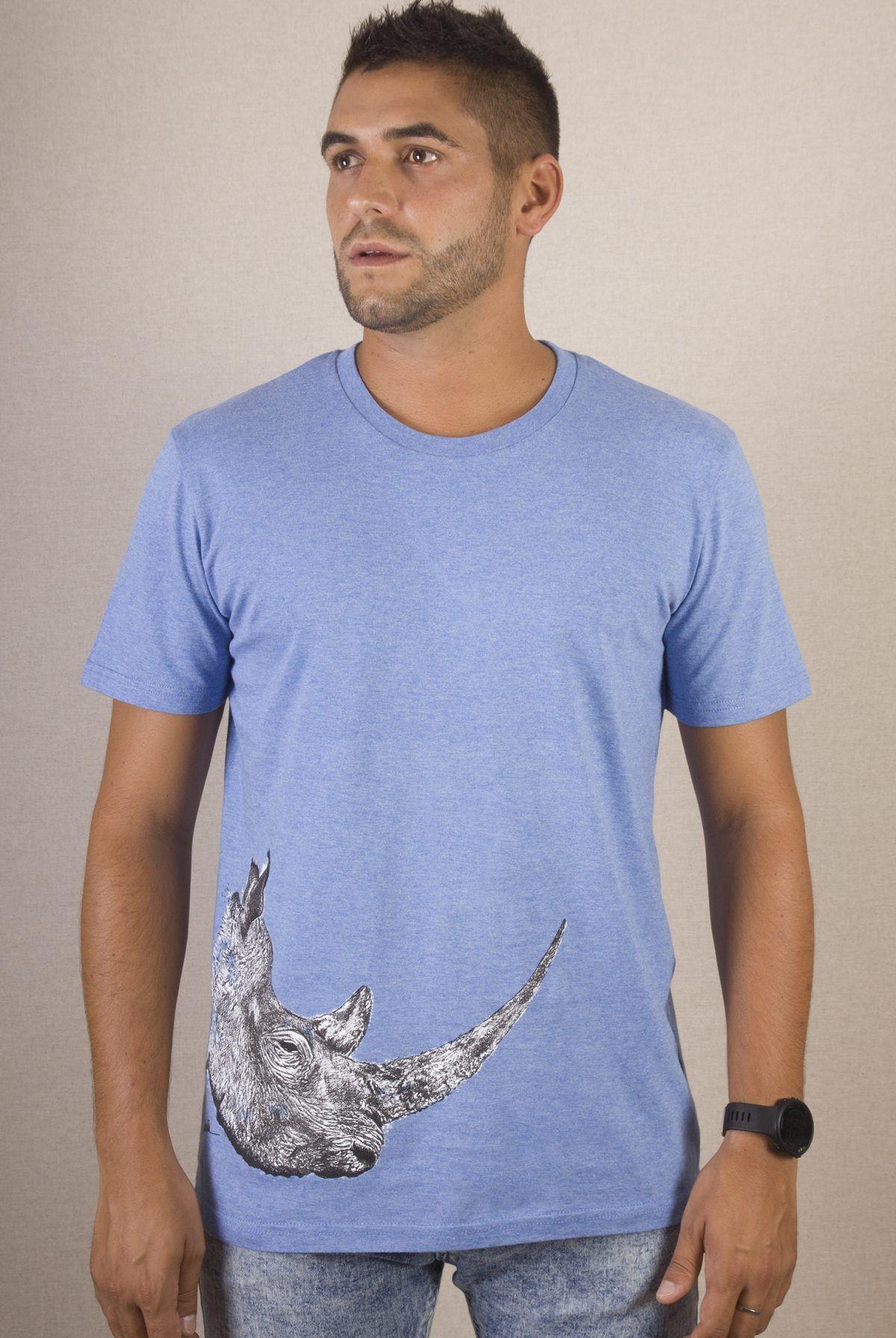 Camiseta hombre Rinoceronte-sirem wild