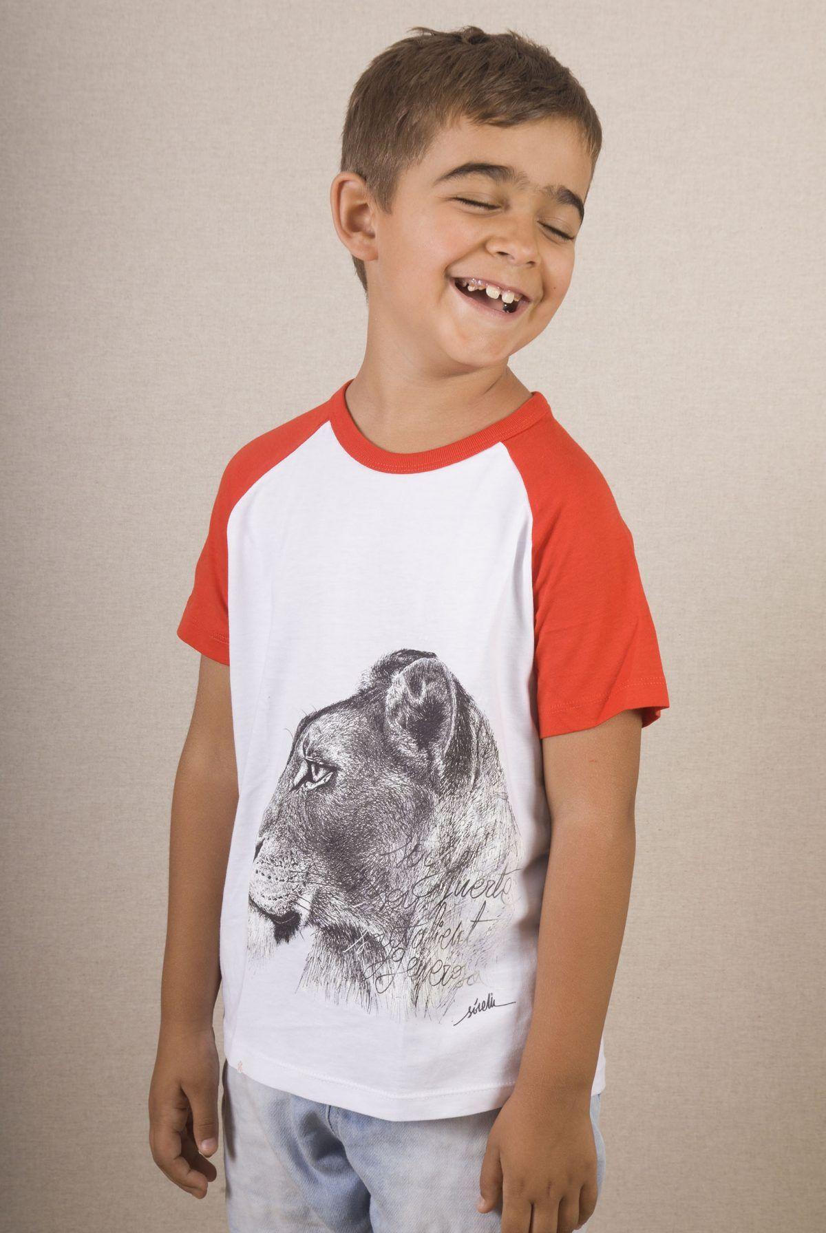 Camiseta leona niños-sirem wild