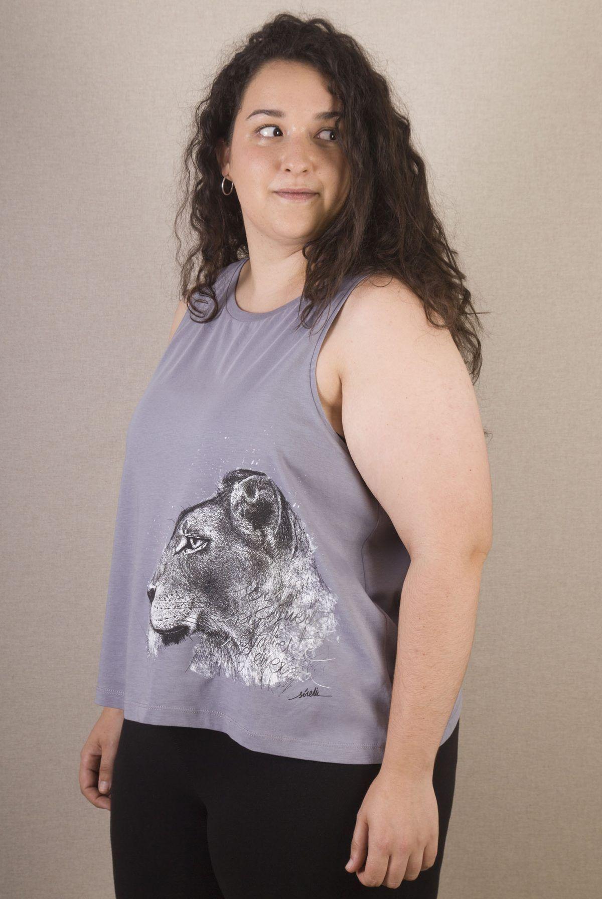 Camiseta mujer Leona-sirem wild