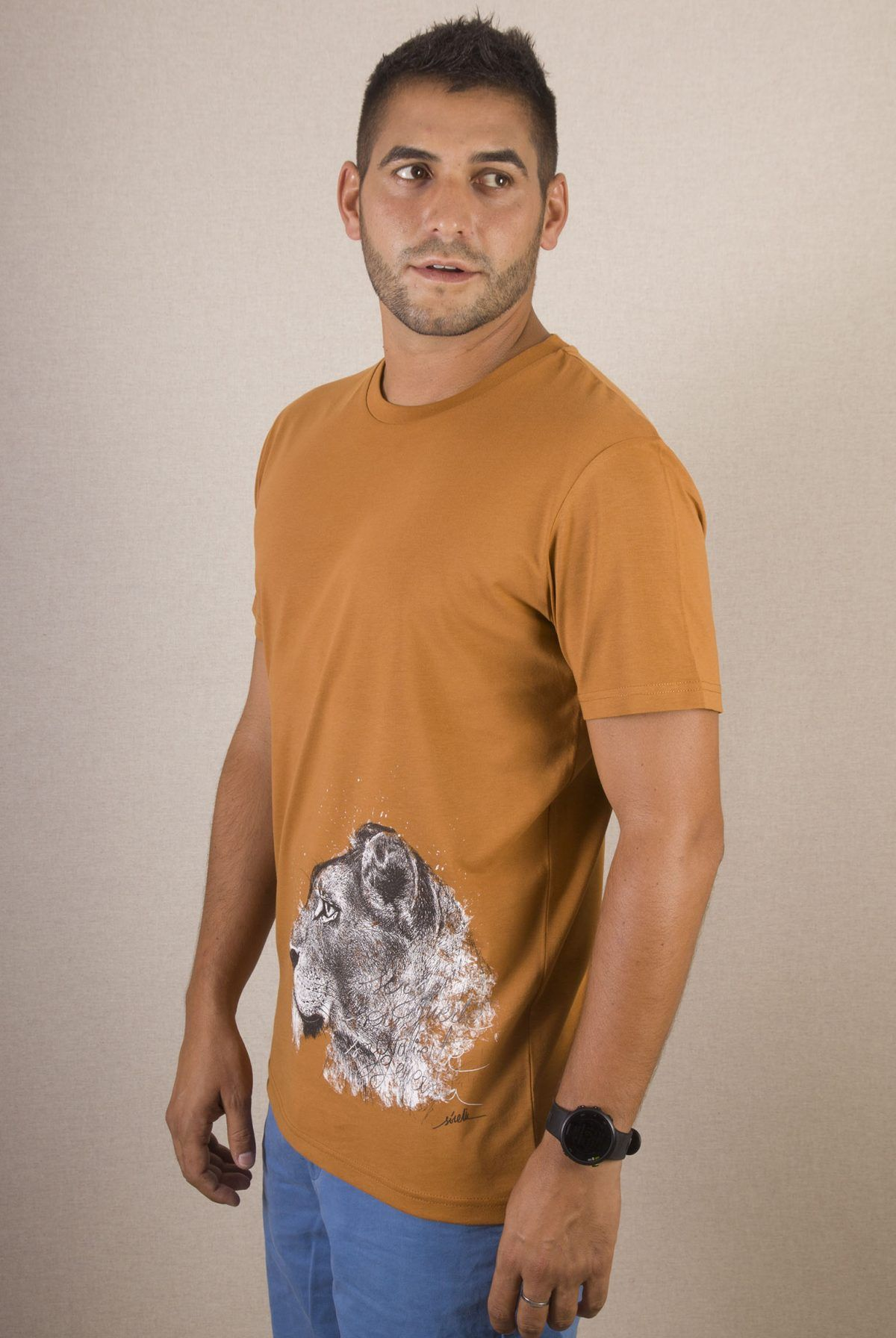 Camiseta organica Leona-sirem wild