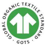 GOTS100-certificado textil ecologico