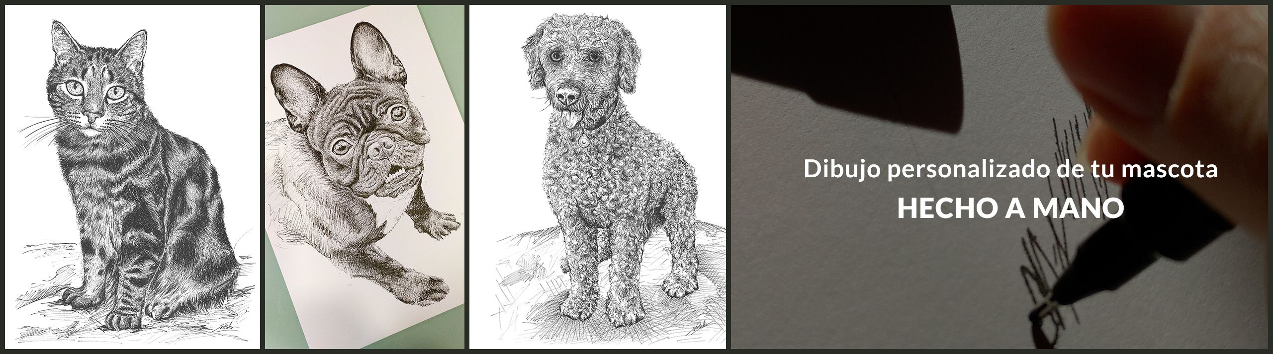 Ilustraciones mascotas personalizables
